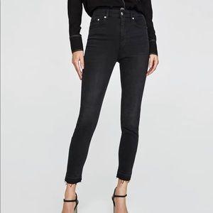 ZARA High Rise Skinny Jeans - 2